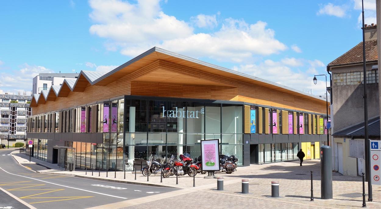 Centre Commercial Avaricum à Bourges