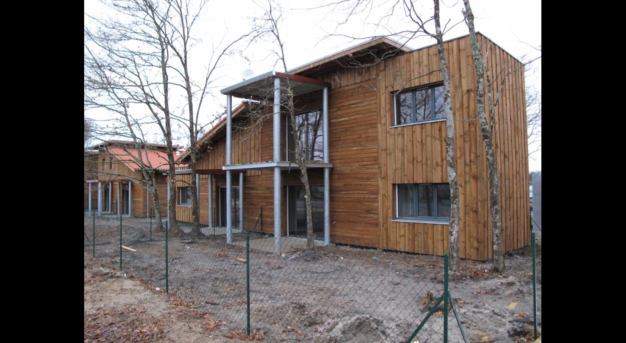 Immeubles et maisons individuelles à ossature bois