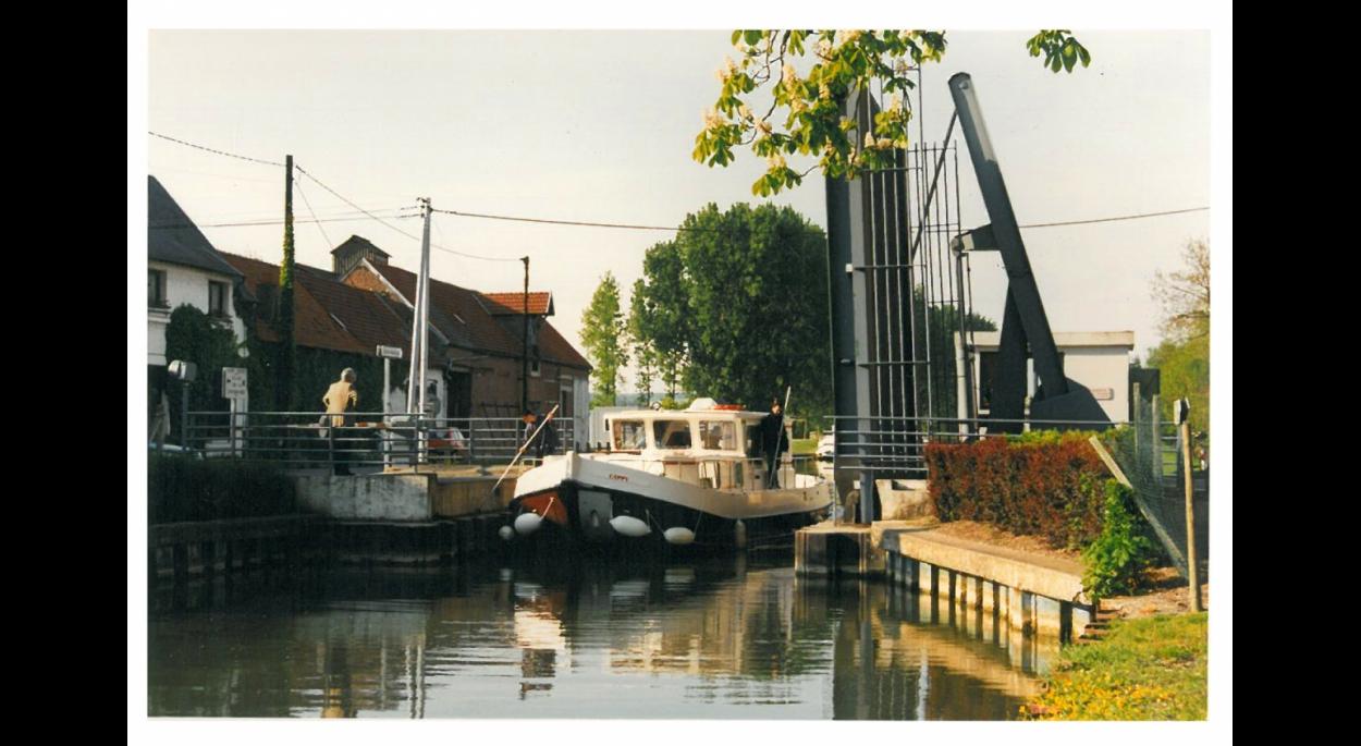 Photographie du pont-levant