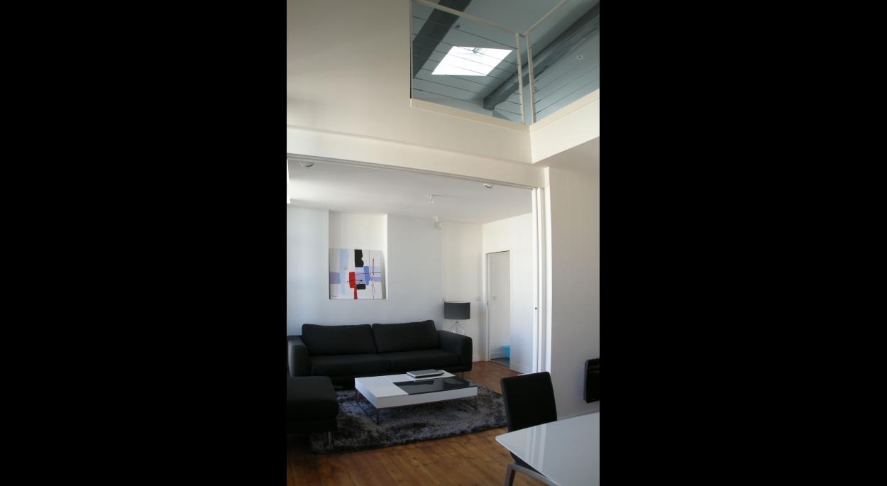 Loft vue intérieure 2