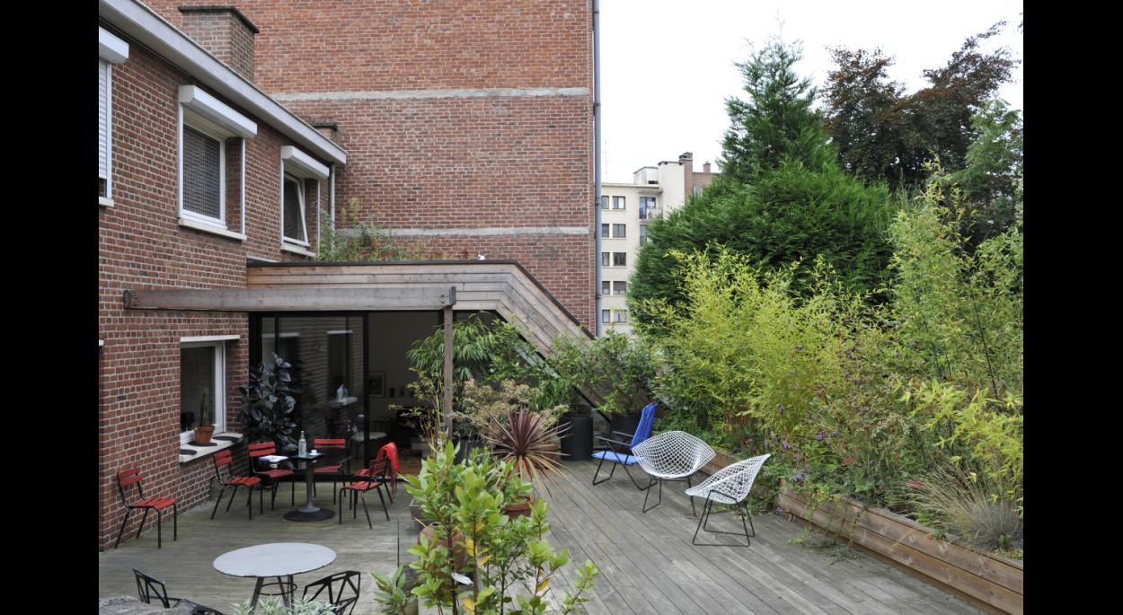 extension bois - architecte lille