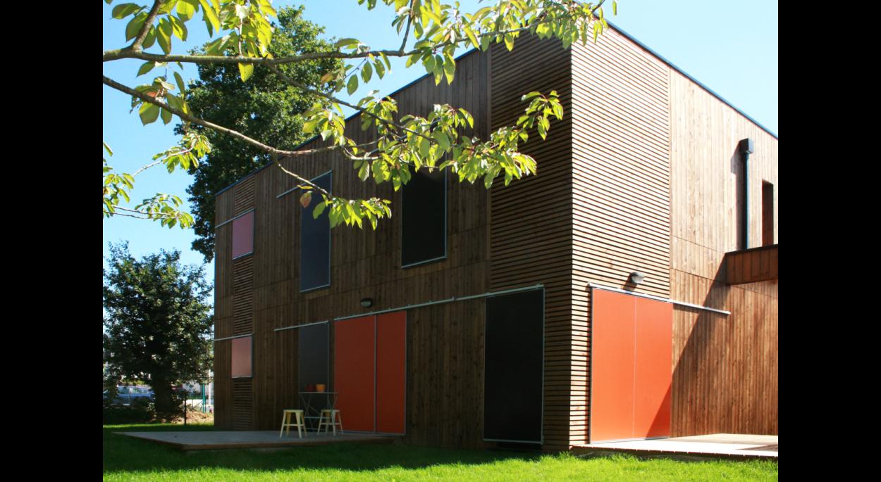 Maison Griotte  l  Coté jardin