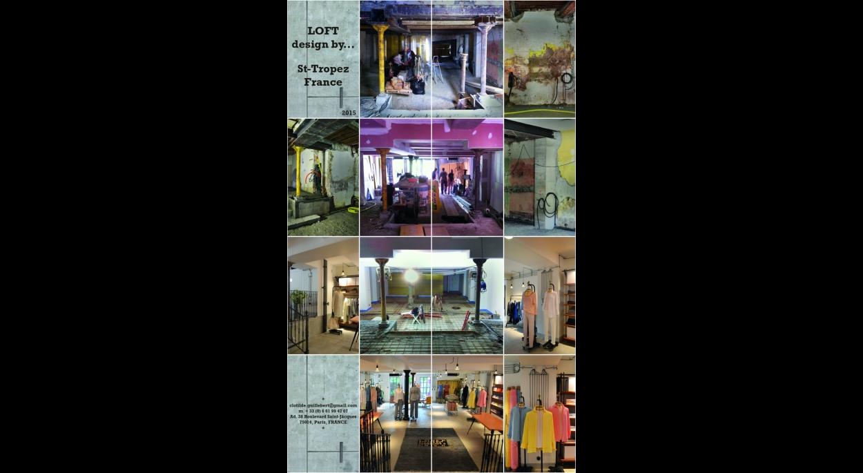 Retail : Boutique LOFT design by…