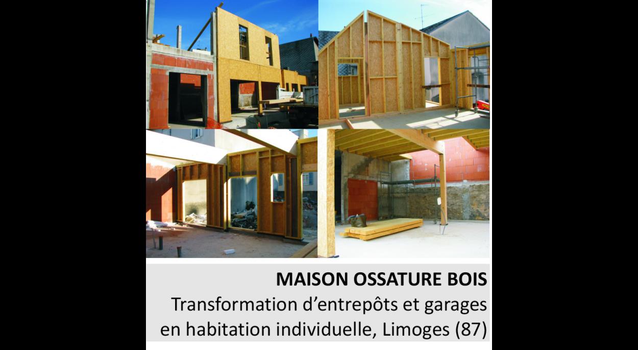 Constructeur Maison En Bois Limoges construction d'une maison en ossature bois | maria-andreea