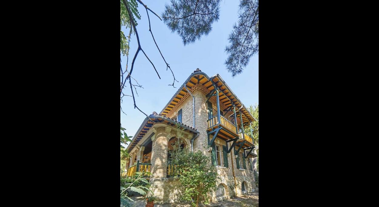 Richesse architecturale de cette demeure du siècle dernier