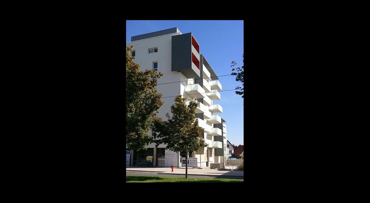 4 bâtiments BBC réalisés dans le cadre d'un plan d'aménagement de 150 logements réalisé par l'agence - Labels Effinergie et Habitat et Environnement