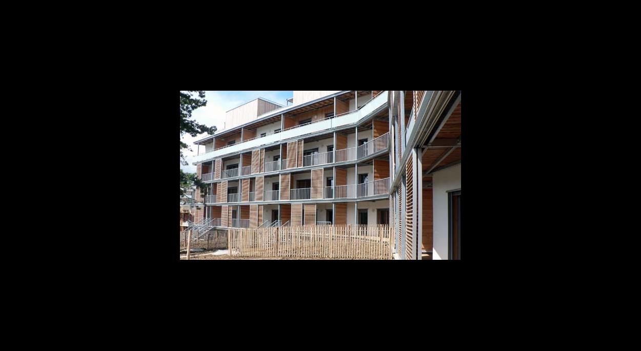 Un immeuble au standart passif dans un éco-quartier - lauréat appel à projet région Bourgogne - labels Effinergie, Habitat & Environnement