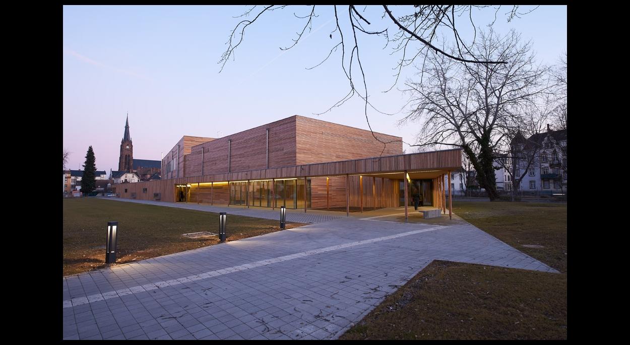 Constructions de deux gymnases au lycée Blaise Pascal Colmar, Région Alsace