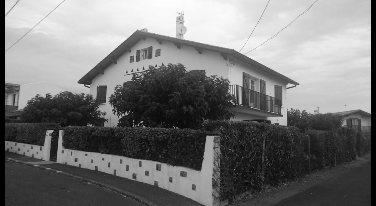 Rénovation d'une maison à Bidart - Avant