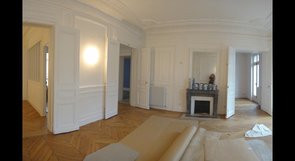 Rénovation d\'un appartement haussmannien à Paris 11e | AKPA ...