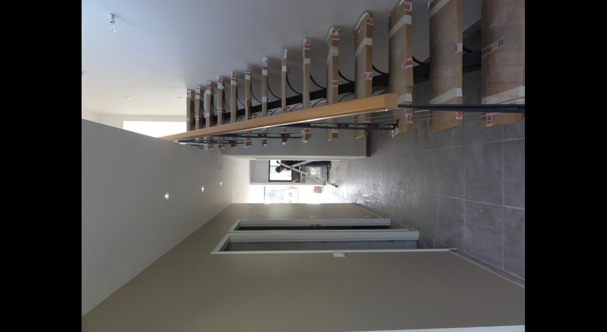Escalier intérieur, couloir