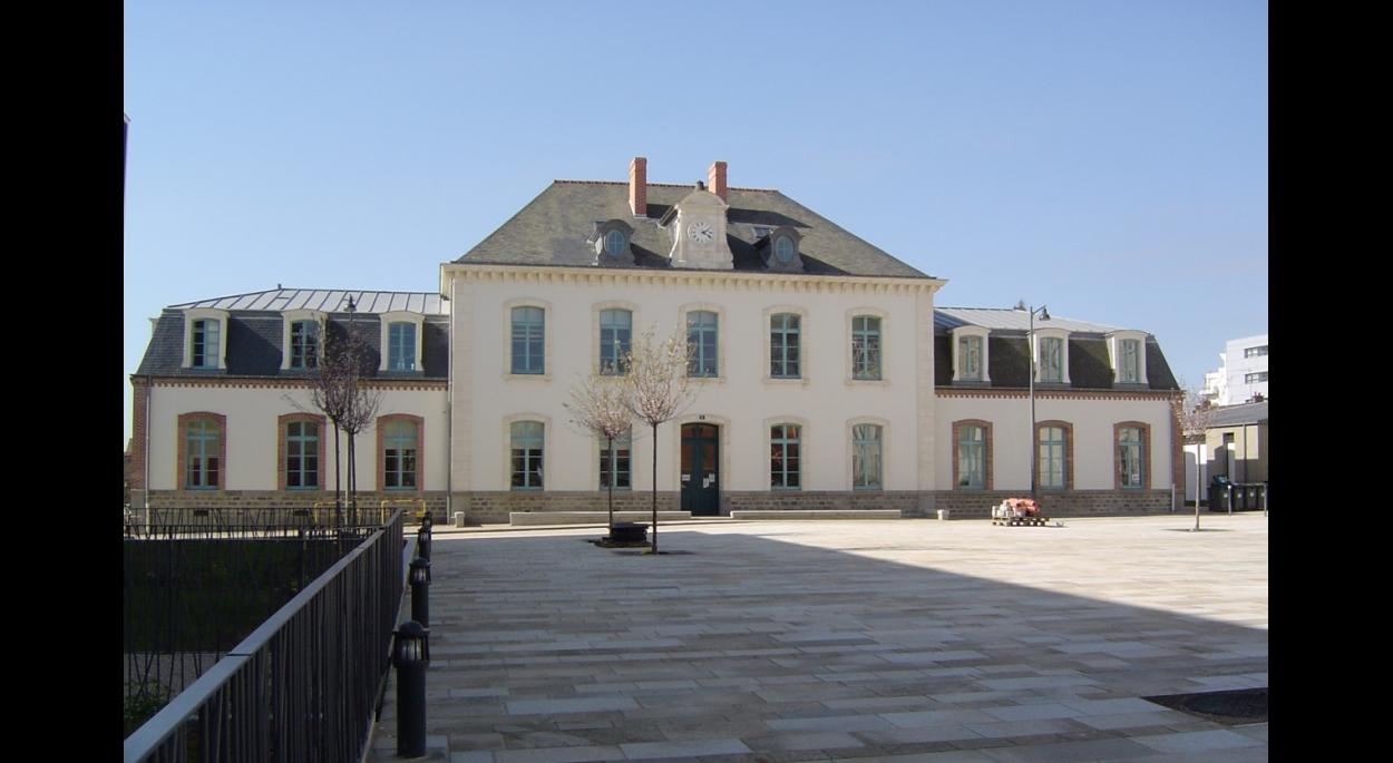 Maison de quartier La Touche Façade sud