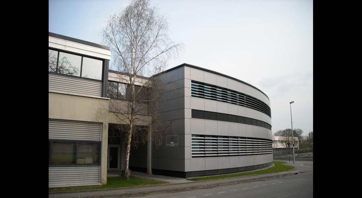 SIB extension entrée façade ouest