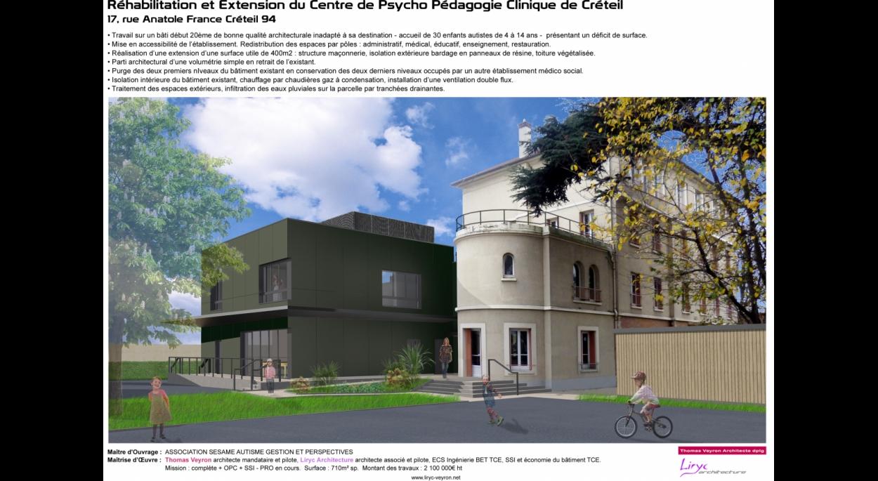 CENTRE DE PSYCHO PEDAGOGIE CLINIQUE DE CRETEIL