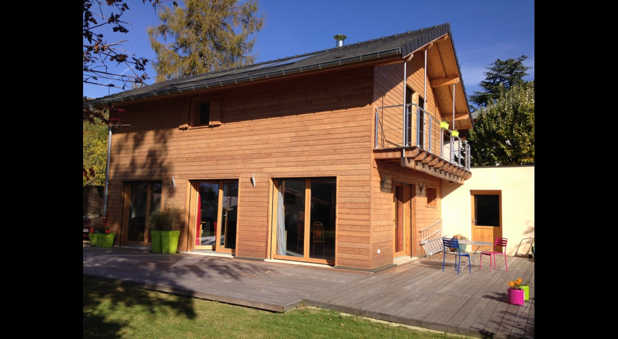 maison ossature bois Grenoble