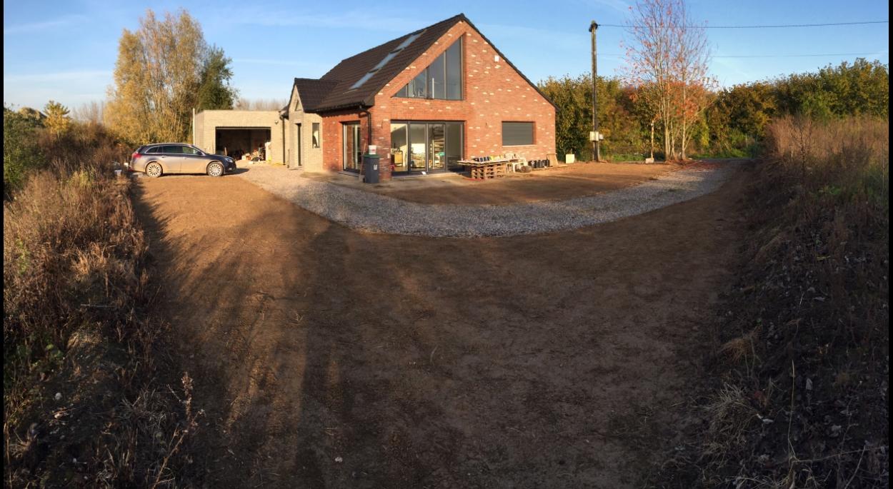 Réhabilitation - Construction d'une maison individuelle à Quesnoy sur Deule - Sébastien Dhooge - Bien Chez Soi
