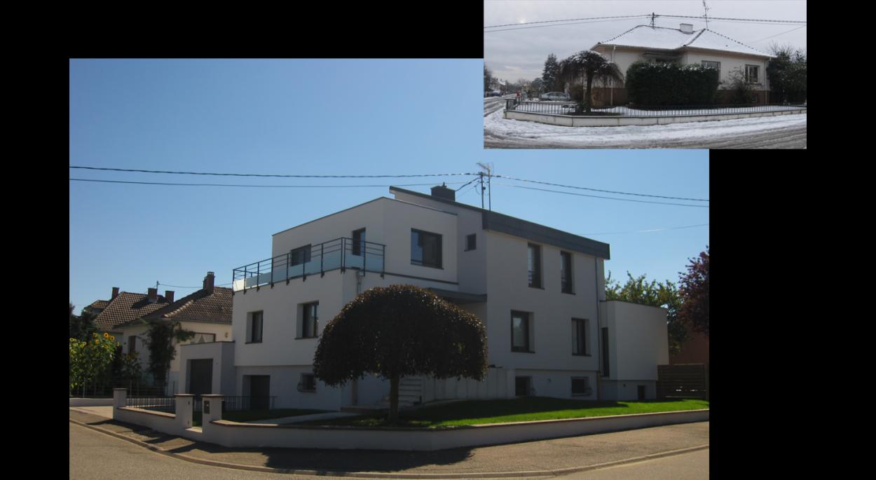 Alain Hugel architecte dplg, Maison à Reischstett