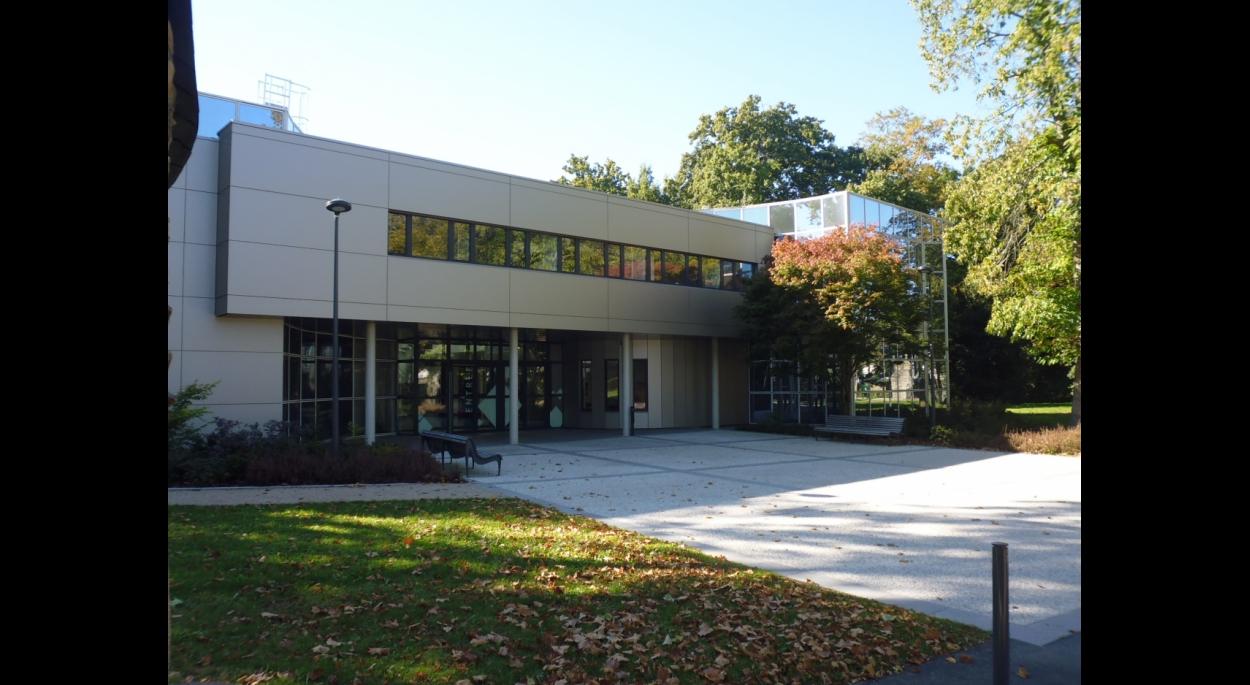 Entrée principale du centre culturel