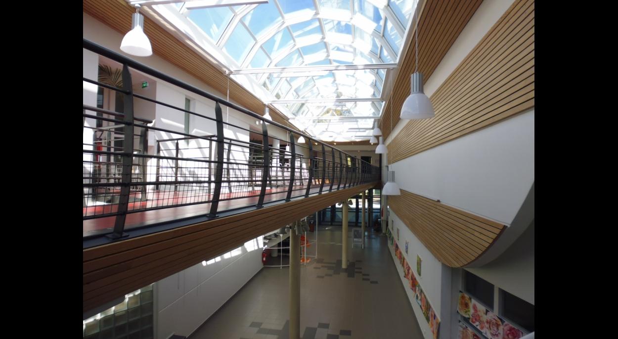 Hall du centre culturel