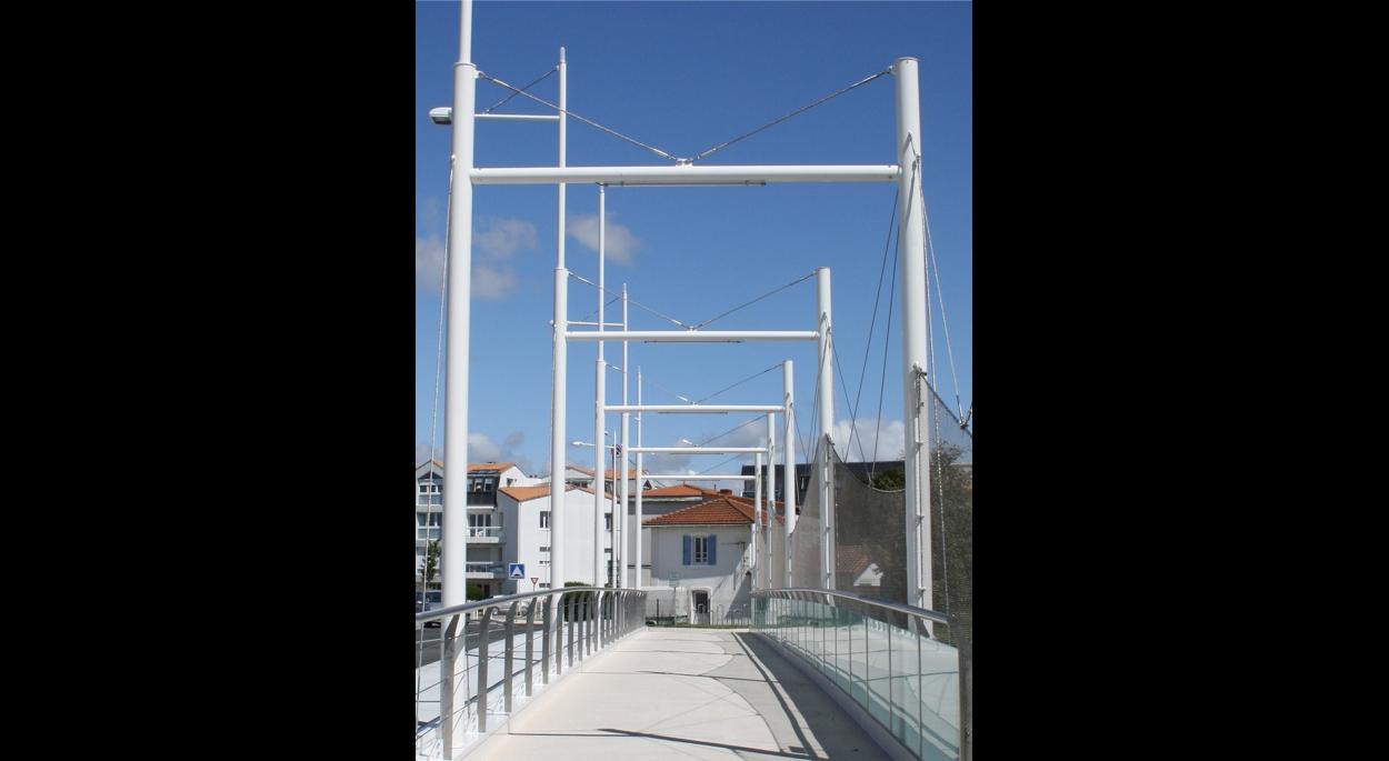 Pont des Charentes - Le franchissement