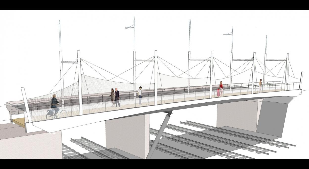 Pont des Charentes - Simulation d'aspect