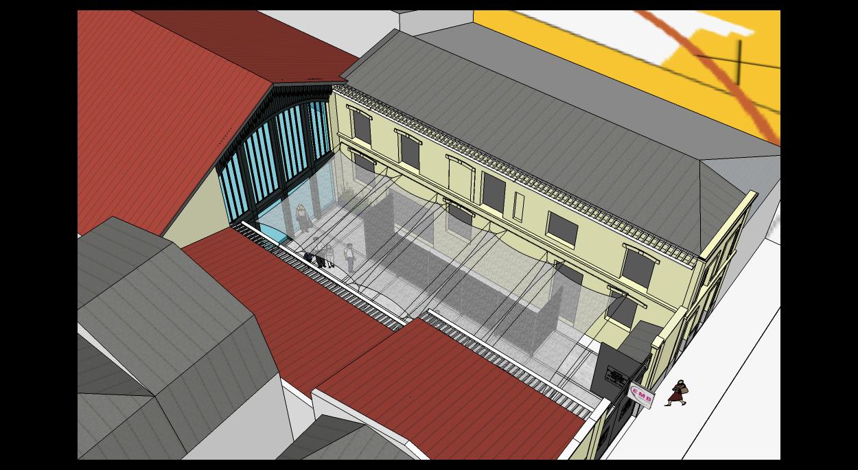 Maquette 3D du projet