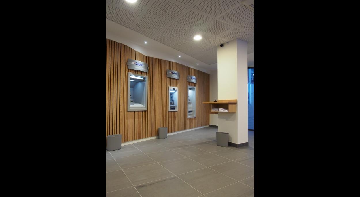 Projet CCMSC - Atelier d'Architecture Deschamps Selestat - Rénovation d'une banque 2