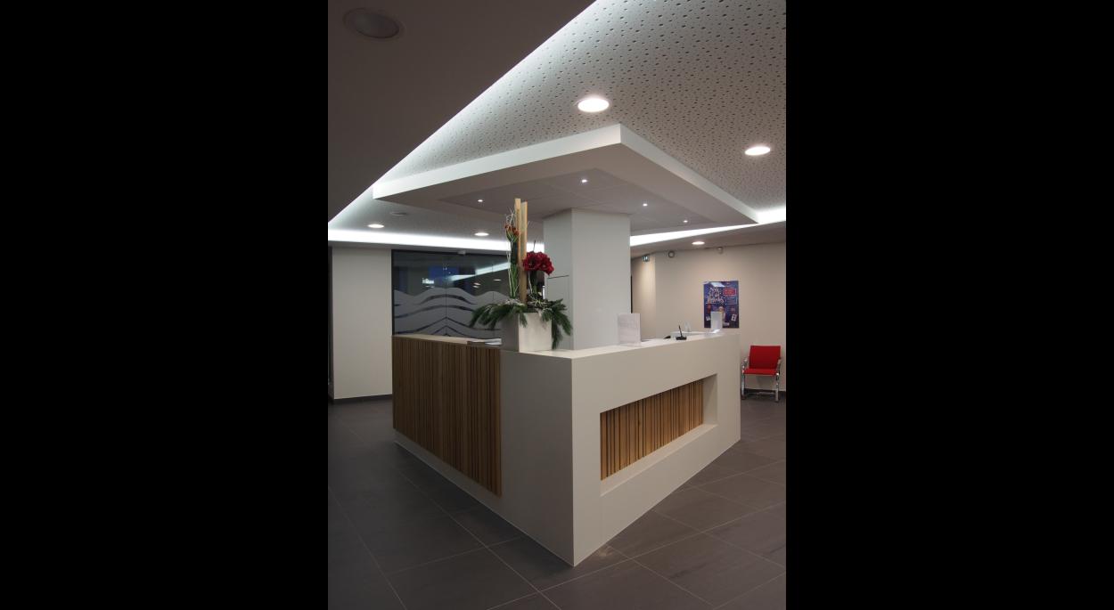 Projet CCMSC - Atelier d'Architecture Deschamps Selestat - Rénovation d'une banque