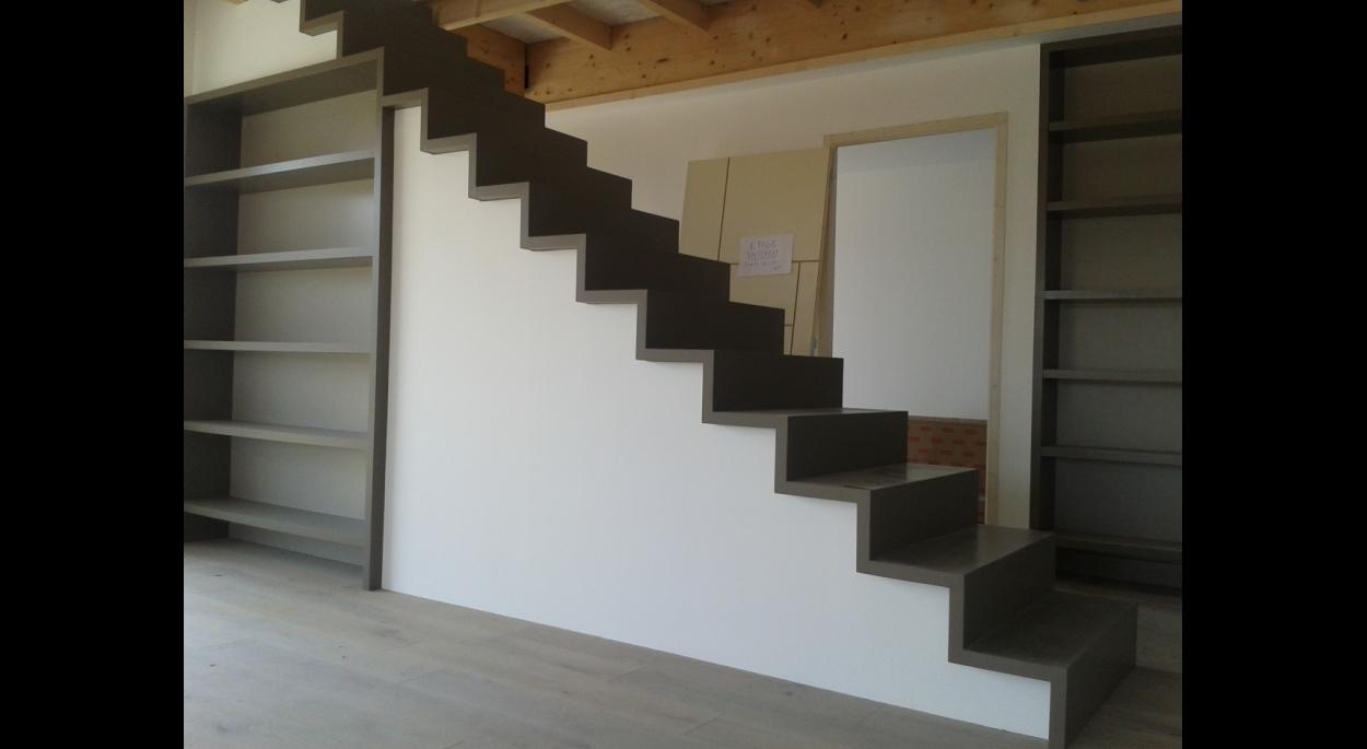 Construction d'une maison à Vallet. Architecte : atelier 14 (CLISSON)
