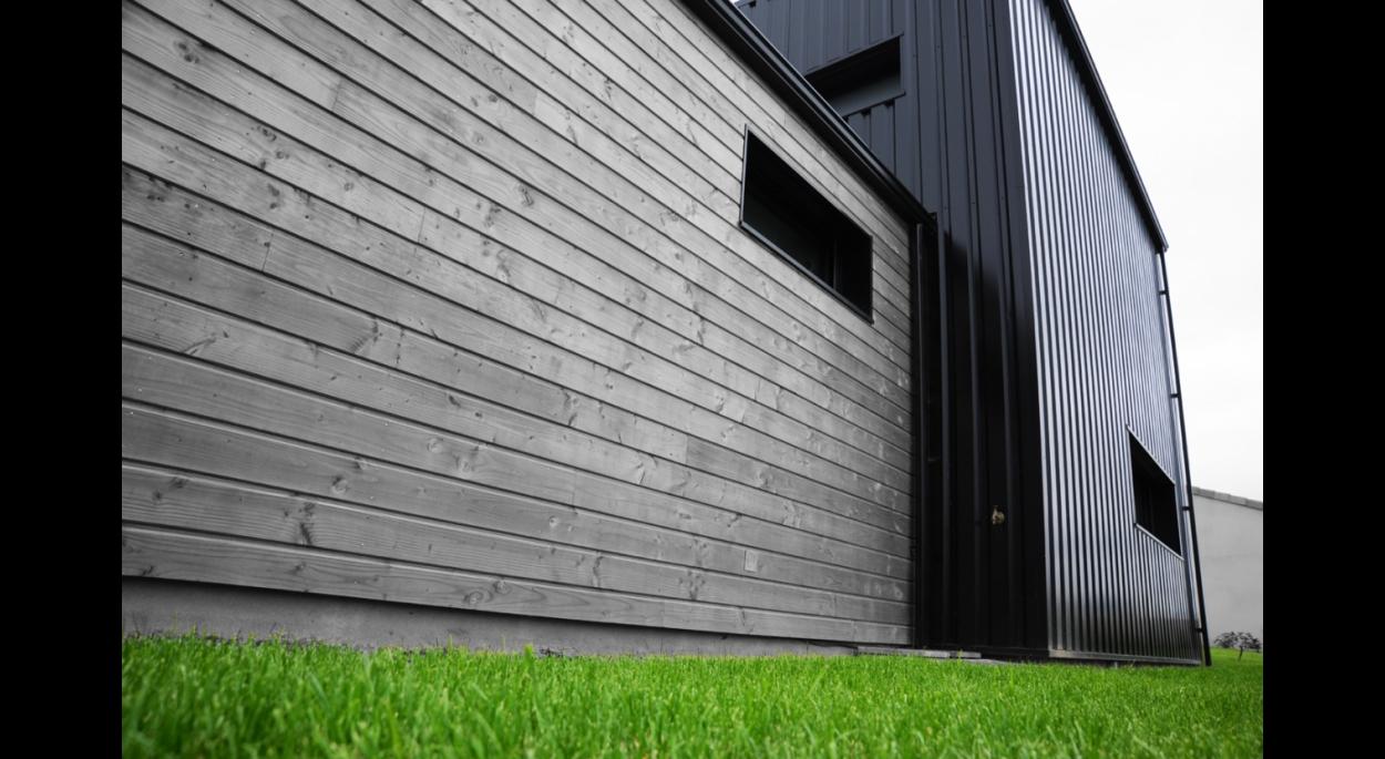 construction d 39 une maison ossature bois saint andr de la marche 49 architecte atelier 14. Black Bedroom Furniture Sets. Home Design Ideas