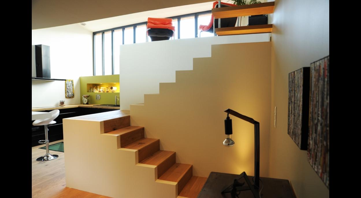 Loft à Clisson. architecte ATELIER 14 (CLISSON)