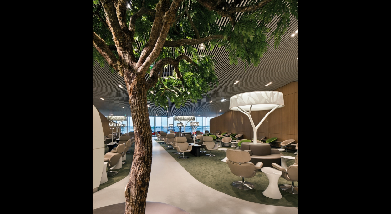 Salon VIP Air France par SLA Architecture