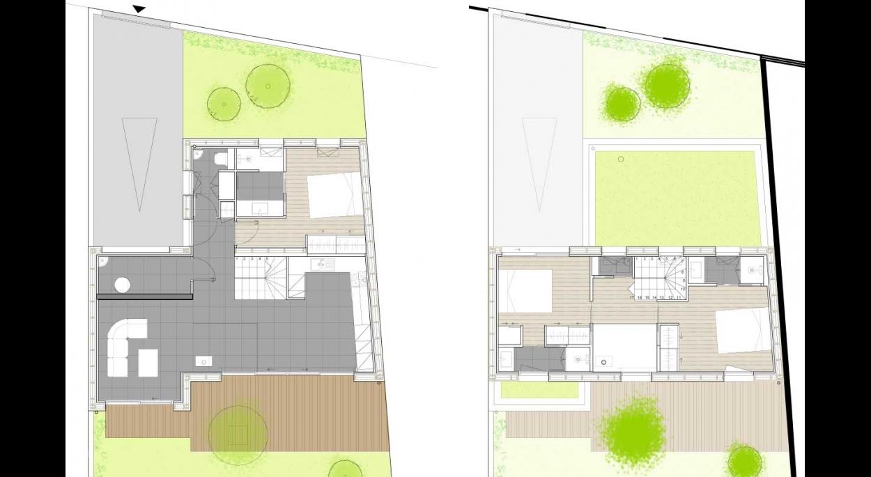 construction d 39 une maison d 39 habitation bordeaux cityzen architectes bordeaux gironde. Black Bedroom Furniture Sets. Home Design Ideas