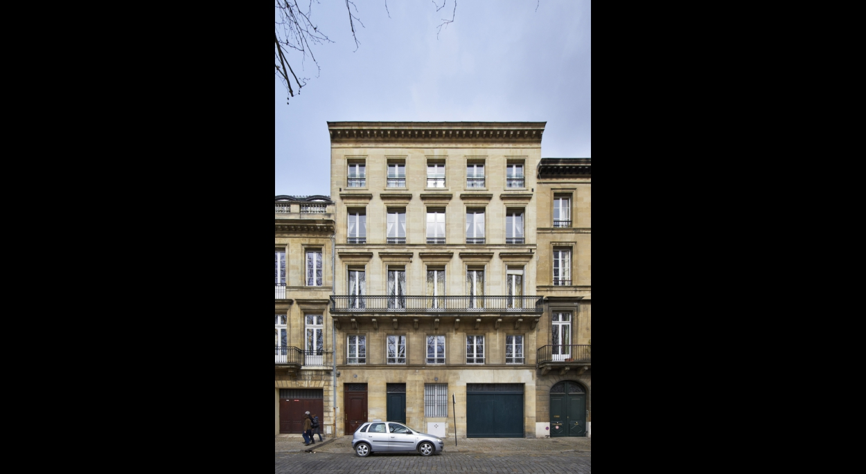 La façade sur rue