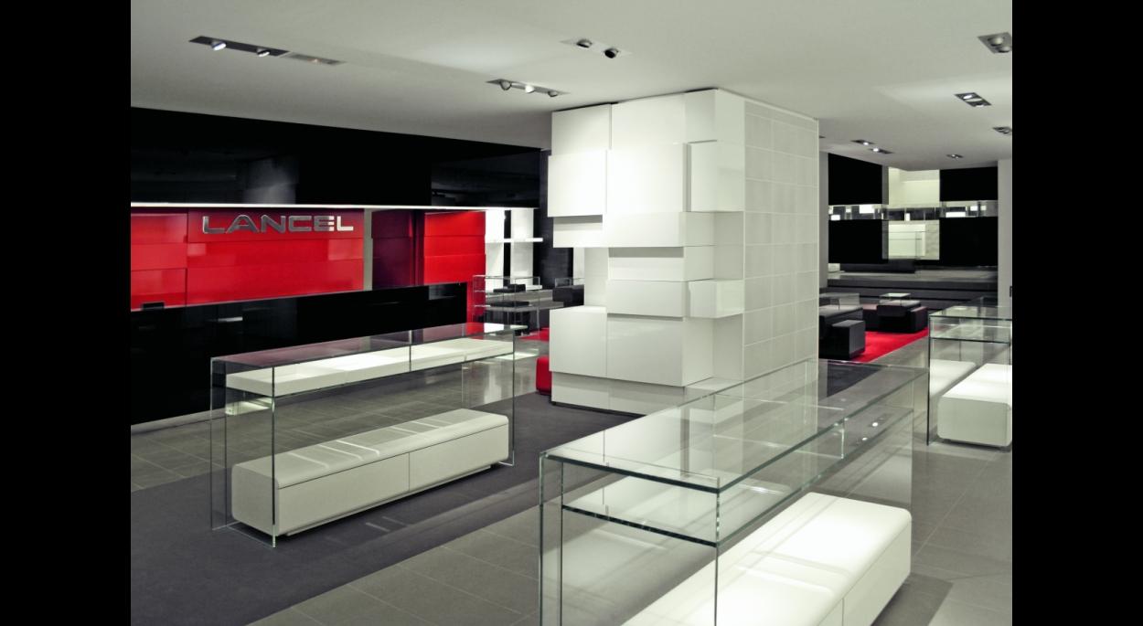 Boutique Lancel Champs Elysées par SLA Architecture