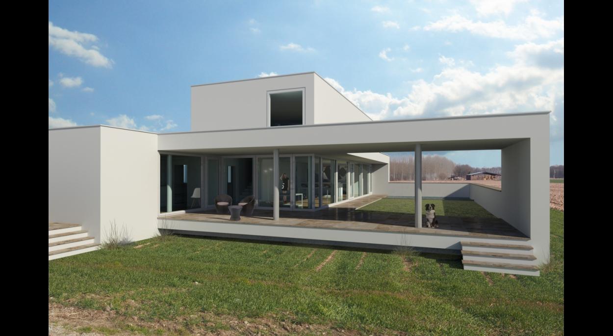 Projet MB - Atelier d'Architecture Deschamps Selestat - Relation entre espaces intérieurs et extérieurs