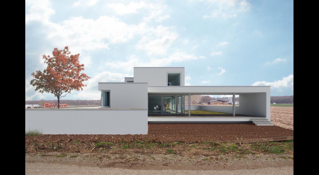 Projet MB - Atelier d'Architecture Deschamps Selestat - Intégration dans le site