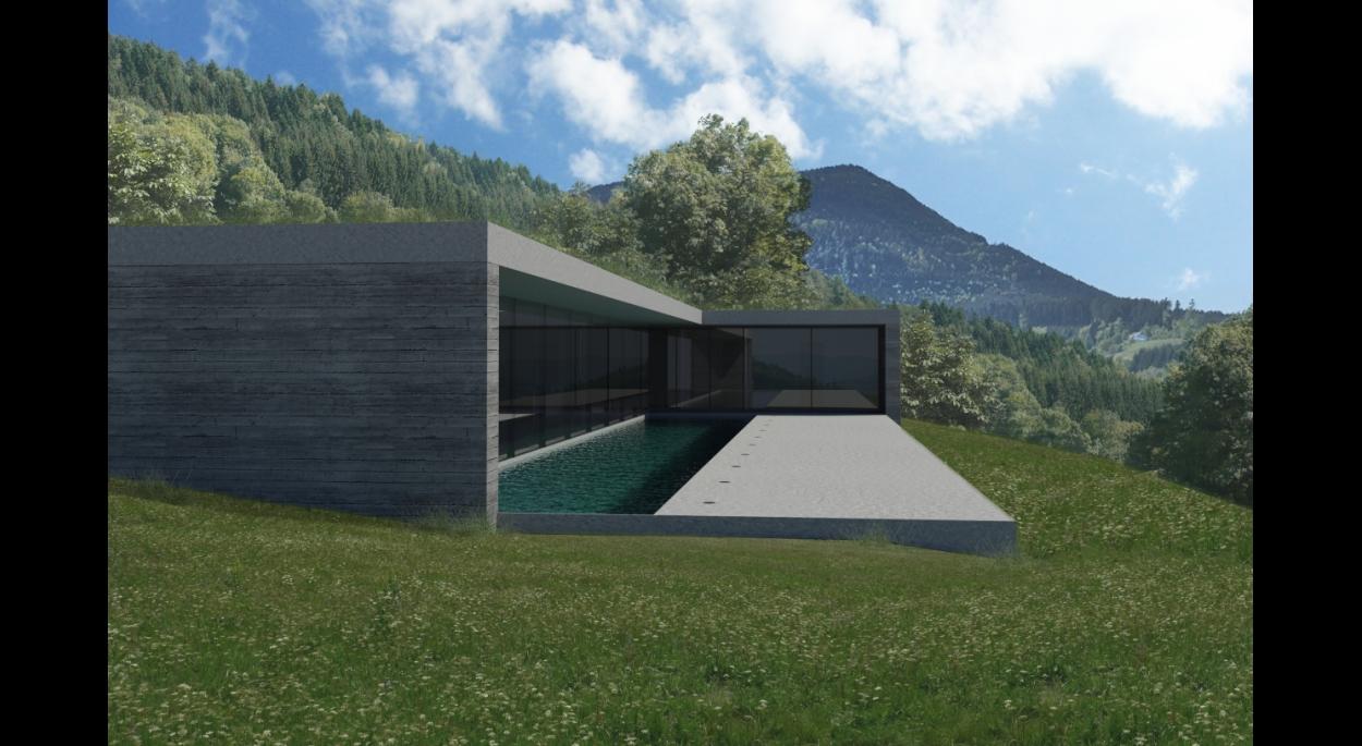 Projet LO - Atelier d'Architecture Deschamps Selestat - Intégration du projet dans le site