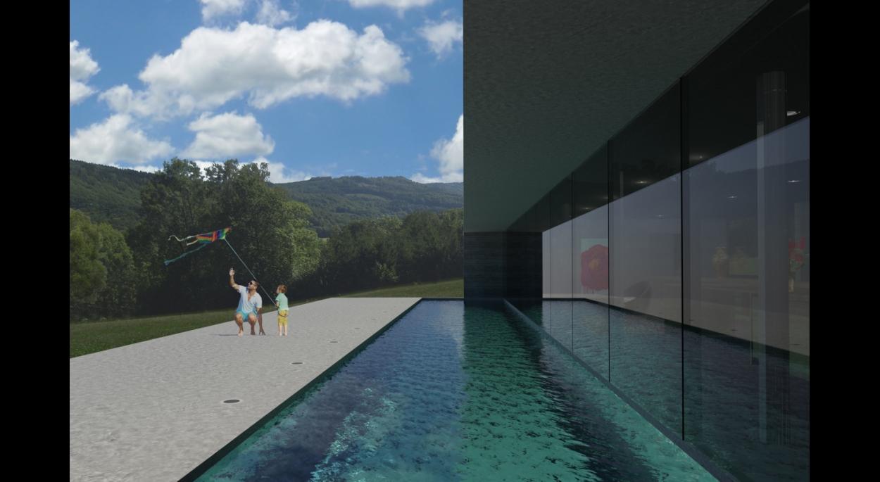 Projet LO - Atelier d'Architecture Deschamps Selestat - Intégration du projet dans le site 2