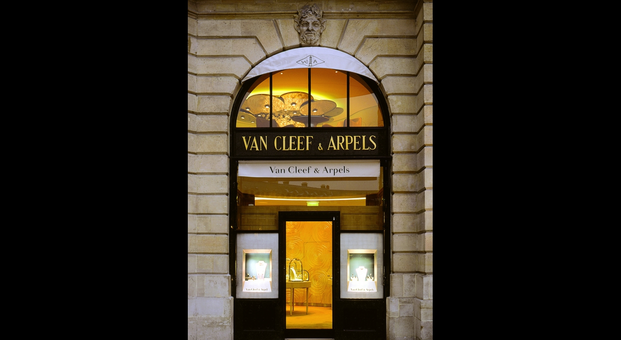 Boutique Van Cleef & Arpels Paris, par SLA Architecture