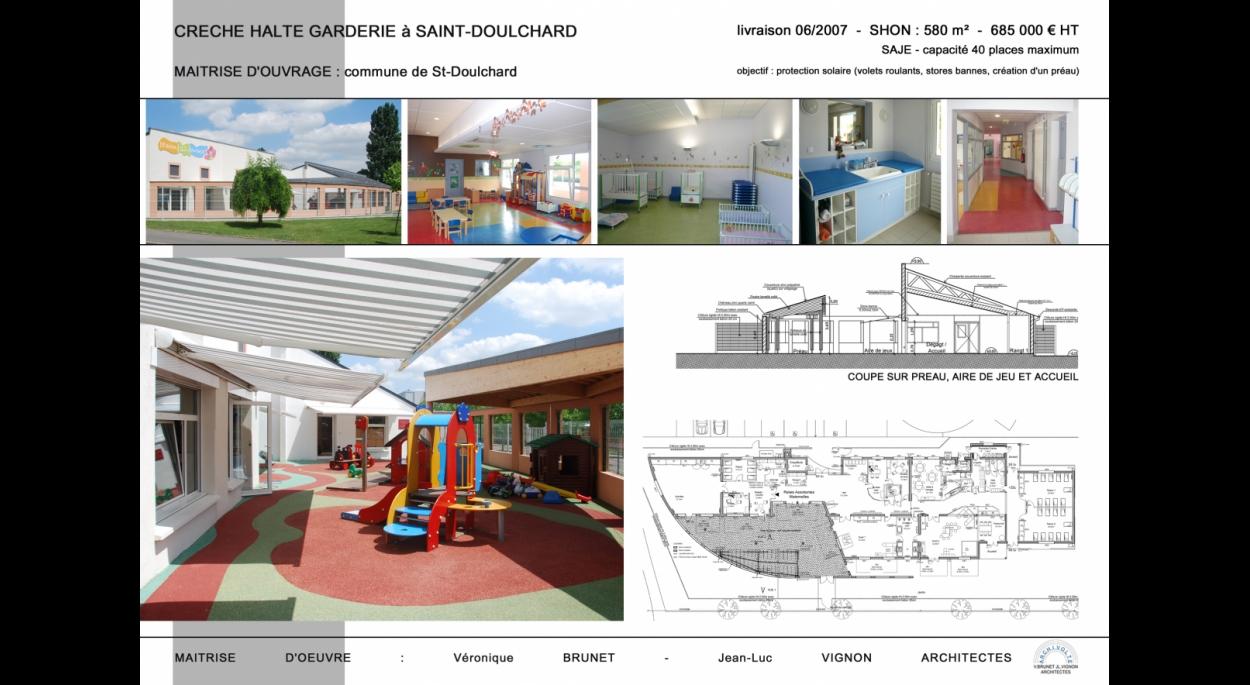 Construction d'une crèche, St Doulchard (18)