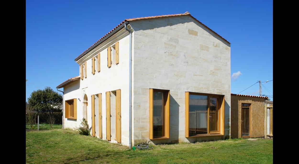 architecte libourne rénovation