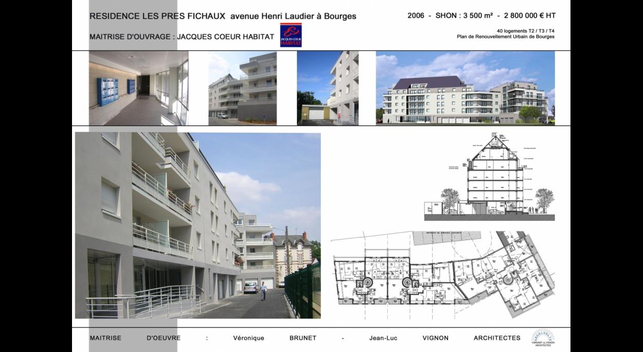 Construction de 40 logements, Résidence