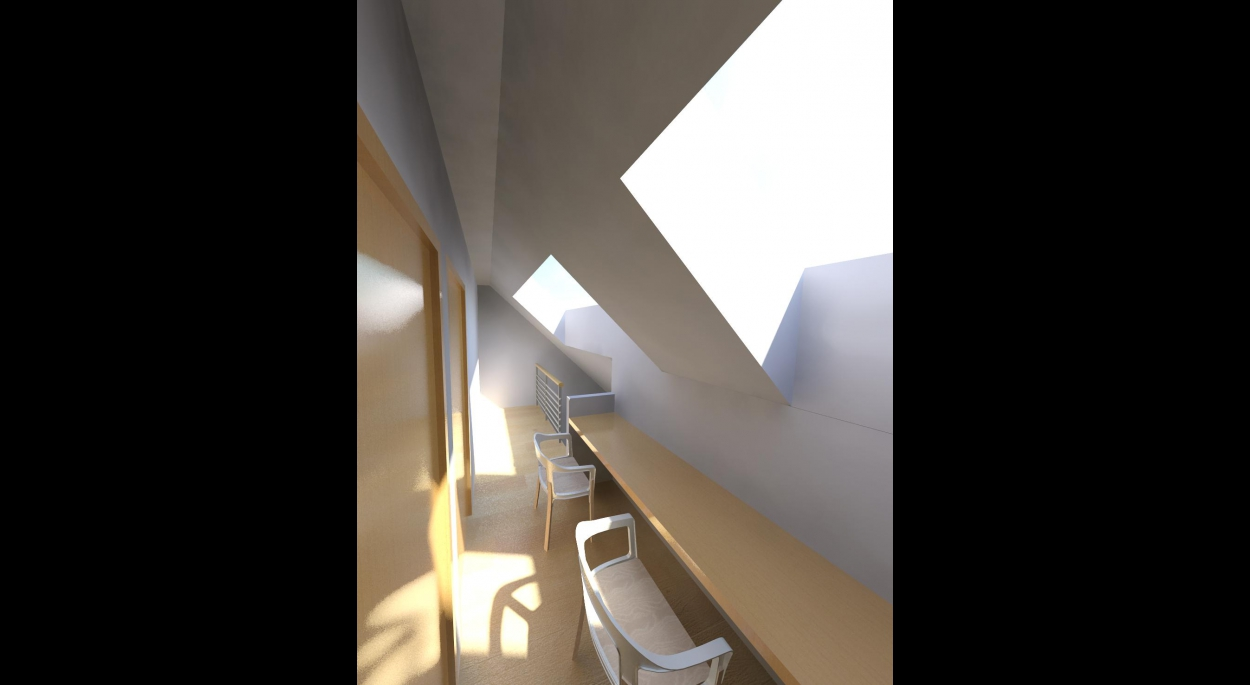 Bureau en mezzanine