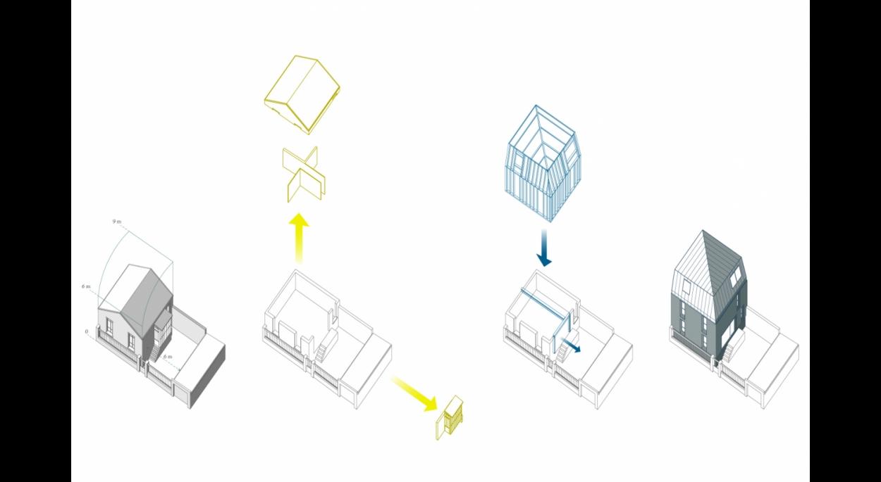 Maison C_Axonométries