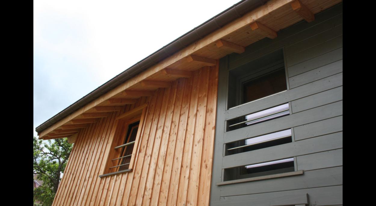 Maison Ossature Bois Vosges maison bois à gÉrardmer | arcane architecture | gÉrardmer