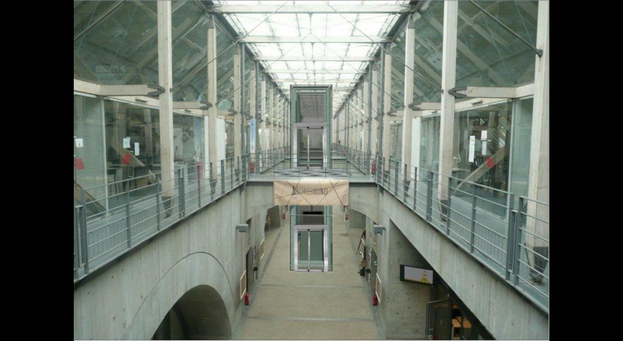 Création d'un ascenseur - ENSA de Lyon