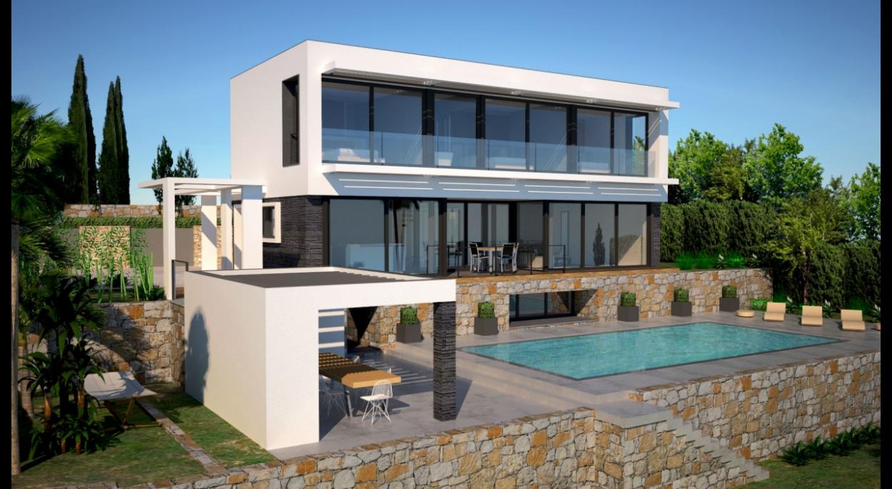 Villa moderne design