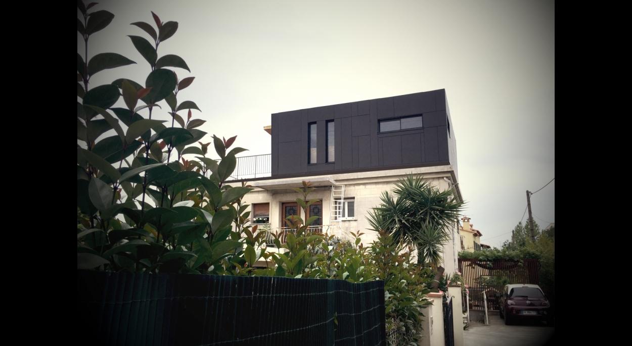 Surélévation Ossature Bois Atelier-RS Architetcure