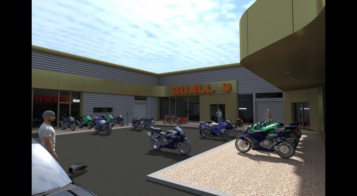 Projet d'un Moto Center